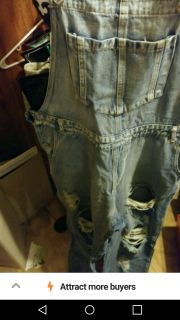 Overalls size large with tags