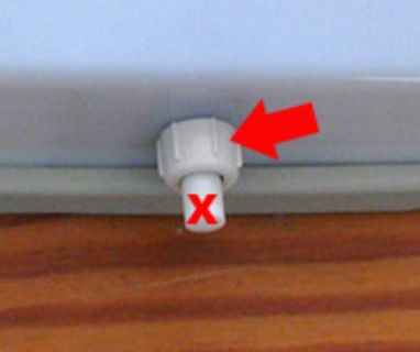 [WTB] Plastic nut for Westfalia camper light switch