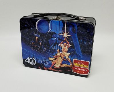 New Star Wars 40th Anniversary Exclusive Metal Lunchbox $10