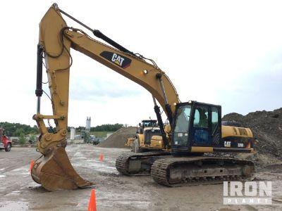 2010 Cat 329D-L Track Excavator