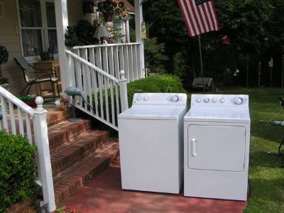 Washer and Dryer By GE-Not digital