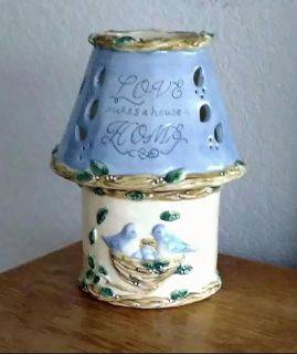 """""""Love Makes A House A Home"""" Candle Holder"""