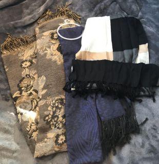 NEW Set of 3 Long Scarves