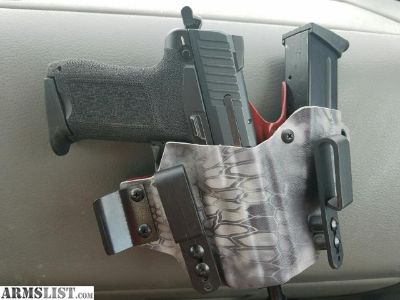 For Sale/Trade: HK45C w 3 mags, T-Rex AIWB holster