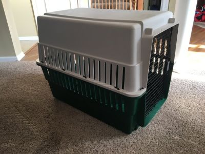 Large Dog Kennel Used Good Condition