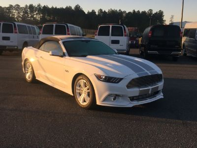 2016 Ford Mustang GT CONVERTIBLE PREMIUM (OXFORD WHITE)