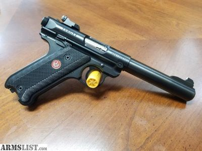 For Sale: Ruger Mark IV Target 22lr