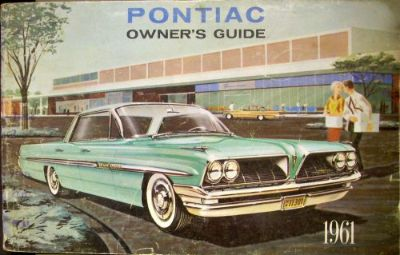 Buy Original 1961 Pontiac Catalina Ventura Star Chief Bonneville Owners Manual motorcycle in Holts Summit, Missouri, United States, for US $32.61