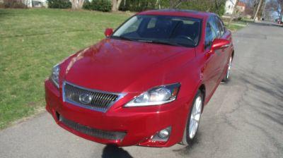 2012 Lexus IS 250 (RED)