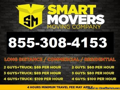 Moving Services, Local and Long Distance