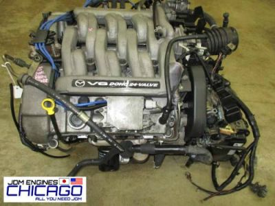 Buy Mazda MPV JDM GY-DE DOHC Engine 2.5 Liter Motor GYDE 99-01 engine only motorcycle in Elk Grove Village, Illinois, United States, for US $649.00