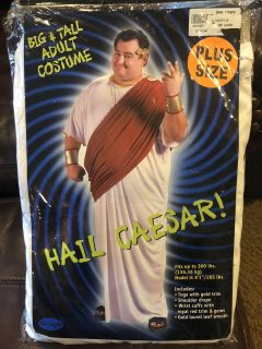 Men's Plus Size Hail Caesar Cosutme - Brand New In Package