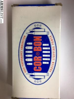 For Sale: Corbon 40 S&W JHP Ammo