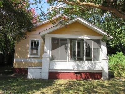 2 Bed 1 Bath Foreclosure Property in Norfolk, VA 23513 - Bland St