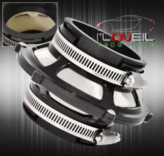 """Sell FOR SUBARU JDM 76MM 3"""" PERFORMANCE AIR INTAKE PIPE BYPASS VALVE FILTER BLACK motorcycle in La Puente, California, United States, for US $15.99"""