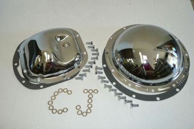 Sell Jeep CJ-7 CJ-5 CJ-6 Chrome Differential Cover Kit Dana 30 Front AMC 20 Rear 4wd motorcycle in Chatsworth, California, United States, for US $58.23