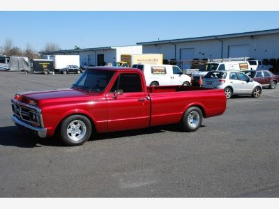1971 GMC Pickup (Mustang Red Metallic)