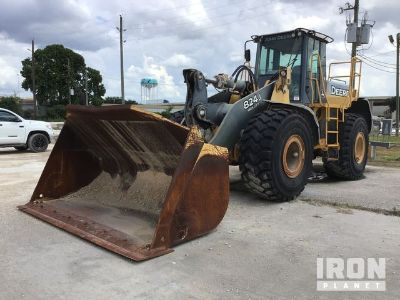 2007 John Deere 824J Wheel Loader