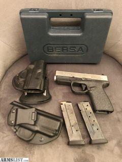 For Sale: Bersa BP 9mm