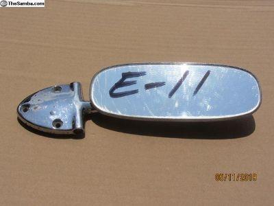 1958 to 1964 bug rear view mirror E-11