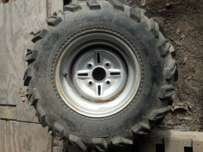 4 wheeler tires & rims