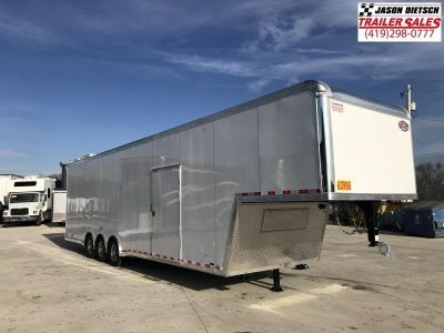 2019 United Trailers 8.5X40 RAMP OVER Car / Racing Trailer..