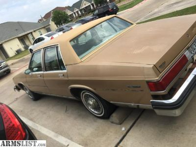 For Sale: 1985 Buick LeSabre Collectors Edition