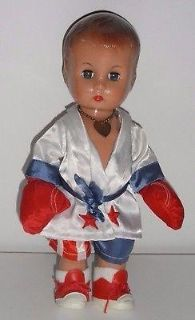 """Effanbee Vinyl """"Candy Kid"""" Boxer Doll Dated 1994"""