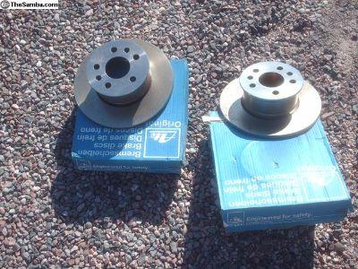 brake rotors, bus