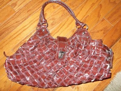 REDUCED ***LARGE Brown Handbag /Purse From CHARMING CHARLIE***