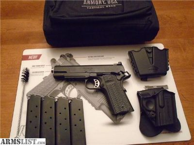 For Sale: Springfield Armory Range Officer Elite Operator .45 ACP W/ Gear