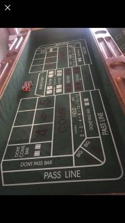 Must go by SUNDAY! 4-in-1 Maverick Game Table w/ Vegas Style Professional Weighted Dice
