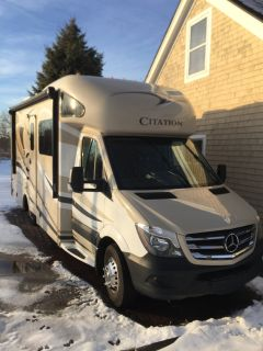 2016 Thor Motor Coach Citation Sprinter 24SL