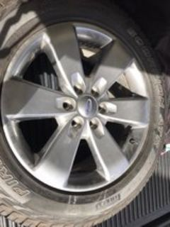 Factory Ford rims and pirelli tires