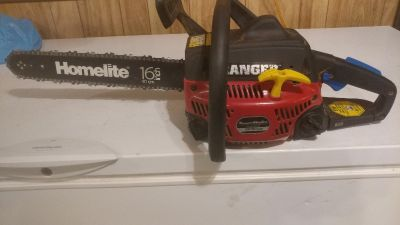 Elite homelife chainsaw 16 in bar