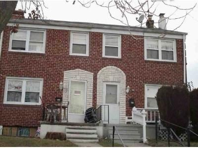 3 Bed 1 Bath Foreclosure Property in Brooklyn, MD 21225 - Townsend Ave