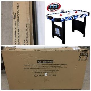 """New MD Sports 48"""" Air Powered Hockey Table"""
