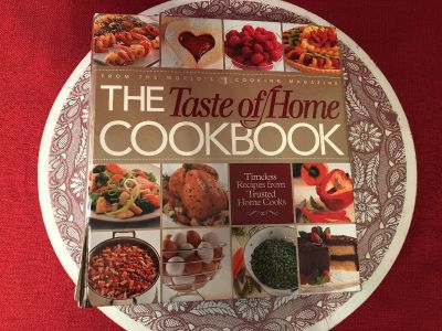 The Taste of Home CookBook. Hard Cover