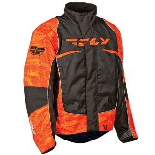 Find FLY Racing SNX Wild Snowmobile Jacket Orange/Black motorcycle in Holland, Michigan, United States, for US $179.96