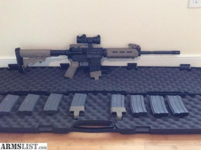 For Sale: S&W M&P 15, 5.56, low round count