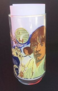1977 STAR WARS CocaCola Burger King Collector Glass LUKE SKYWALKER
