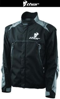Purchase Thor Range Black Off-Road Dirt Bike Jacket MX ATV Dual Sport 2014 motorcycle in Ashton, Illinois, US, for US $179.95