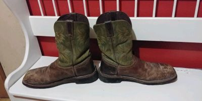 Justin boots size 12