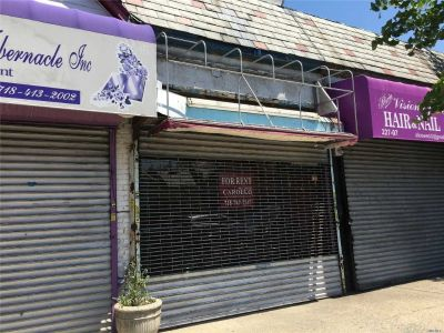 ID#: 1298642, Commercial Property Available For Rent In Cambria Heights