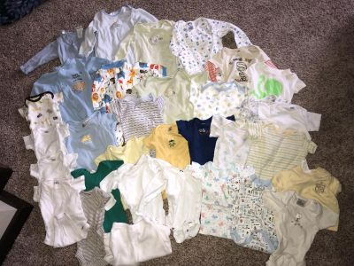 Lot of Baby Boy Clothes Size 0-3month