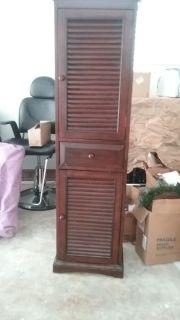 Mahogany styling cabinet
