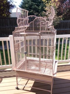 Large Parrot Cage & Cover