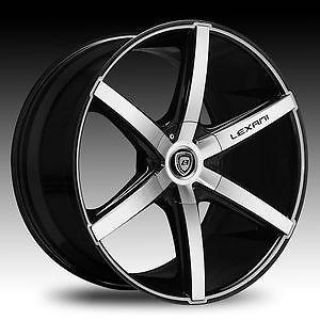 "Purchase 20"" Lexani R6 Six Black Wheels Tires 235/35-20 5x114.3 +40 Honda Nissan Toyota motorcycle in Victorville, California, US, for US $1,499.00"