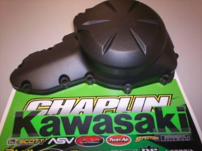 Find NEW OEM KAWASAKI LEFT ENGINE GENERATOR COVER EX650 motorcycle in Chaplin, Connecticut, US, for US $72.00