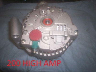 Buy HIGH AMP ALTERNATOR 2006-2005 2004 Ford E Series F Series Van 6.0L Excursion 6.0 motorcycle in San Mateo, California, US, for US $149.90